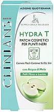 Духи, Парфюмерия, косметика Очищающие патчи для лица - Clinians Hydra T Pach C Punti Neri Clinians