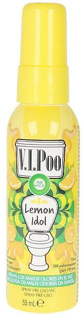 Спрей-освежитель для воздуха - Air Wick V.I.Poo WC Lemon Idol Spray — фото N1