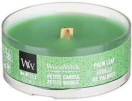 Духи, Парфюмерия, косметика Ароматическая свеча в стакане - Woodwick Petite Candle Palm Leaf