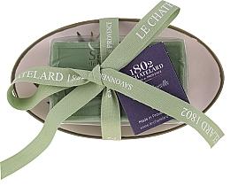 """Духи, Парфюмерия, косметика Мыло овальное с керамической мыльницей """"Оливка"""" - Le Chatelard 1802 Olive Soap"""