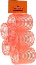"""Духи, Парфюмерия, косметика Бигуди-липучки для волос """"Velcro"""" 47мм, 5шт, 0478 - Top Choice"""