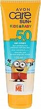 Духи, Парфюмерия, косметика Солнцезащитный крем для детей - Avon Sun+ Kids And Baby Sun Cream SPF50