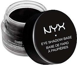 Духи, Парфюмерия, косметика База под тени черная - NYX Professional Makeup Eyeshadow Base Black