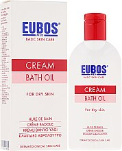 Духи, Парфюмерия, косметика Масло для ванны - Eubos Med Basic Skin Care Cream Bath Oil For Dry Skin