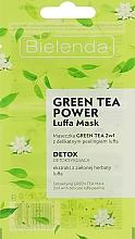 Духи, Парфюмерия, косметика Маска для лица - Bielenda Green Tea Power Luffa Mask 2in1