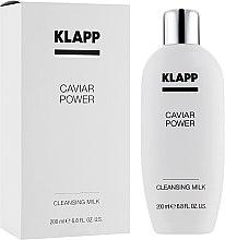 Духи, Парфюмерия, косметика Очищающее молочко - Klapp Caviar Power Cleanser Milk