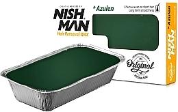 Духи, Парфюмерия, косметика Воск для депиляции - Nishman Hair Removal Wax Azulen