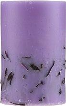 "Ароматическая свеча ""Лаванда"", 65/100 мм - Bulgarian Rose — фото N2"