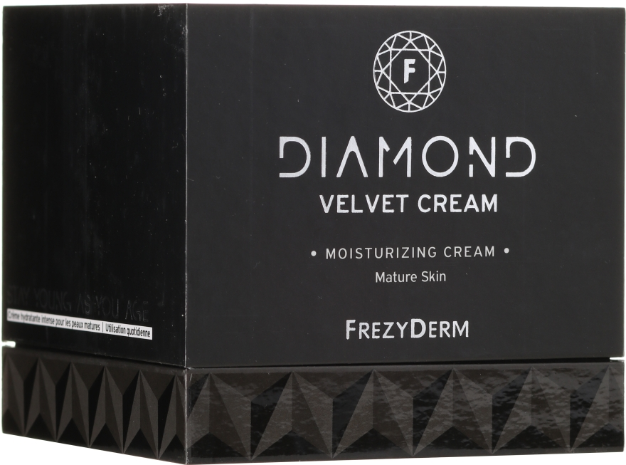Увлажняющий крем для лица - Frezyderm Diamond Velvet Moisturizing Cream For Ripe Skin — фото N1