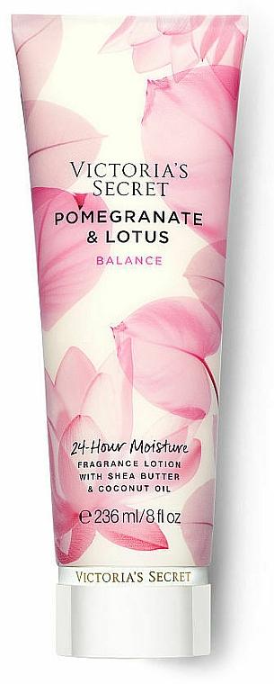 Парфюмированный лосьон для тела - Victoria's Secret Pomegranate & Lotus Fragrance Lotion — фото N1