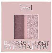 Духи, Парфюмерия, косметика Тени для век - Wibo I Choose What I Want Duo Eyeshadow
