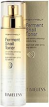 Духи, Парфюмерия, косметика Тонер с ферментированным экстрактом улитки - Tony Moly Timeless Ferment Snail Toner
