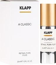 "Духи, Парфюмерия, косметика Эмульсия для лица ""Чистый ретинол"" - Klapp A Classic Retinol Pure Serum"