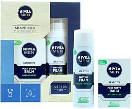 Духи, Парфюмерия, косметика Набор - Nivea for Men Shave Master Gift Set (sh/foam/200ml+post/shave/balm/100ml)
