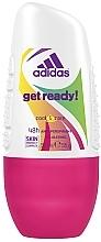 Духи, Парфюмерия, косметика Дезодорант - Adidas Anti-Perspirant Get Ready Cool&Care 48h