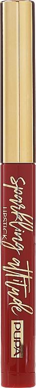 Матовая помада для губ - Pupa Sparkling Attitude Lipstick Matt Effect — фото N2