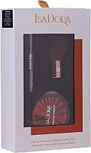 Духи, Парфюмерия, косметика Набор - IsaDora Bronzing Travel Kit (bronzer/3.8g + mascara/3ml + brush/1pcs)