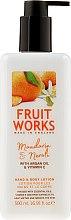 "Духи, Парфюмерия, косметика Лосьон для рук и тела ""Мандарин и нероли"" - Grace Cole Fruit Works Hand & Body Lotion Mandarin & Neroli"