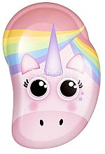 Духи, Парфюмерия, косметика Детская расческа для волос - Tangle Teezer The Original Mini Children Detangling Hairbrush Rainbow The Unicorn