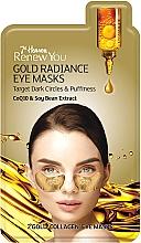 """Духи, Парфюмерия, косметика Маска для контура глаз """"Золотое сияние"""" - 7th Heaven Renew You Gold Radiance Eye Masks"""