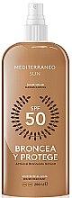 Духи, Парфюмерия, косметика Лосьон для загара - Mediterraneo Sun Suntan Lotion SPF50