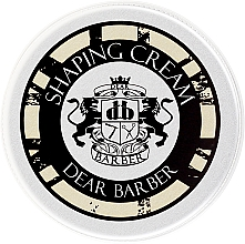 Духи, Парфюмерия, косметика Моделирующий крем для волос - Dear Barber Shaping Crem (мини)