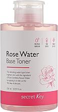 Духи, Парфюмерия, косметика Тонер на основе розовой воды - Secret Key Rose Water Base Toner