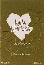 Духи, Парфюмерия, косметика Lolita Lempicka Au Masculin - Туалетная вода (пробник)