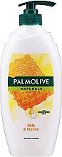 Духи, Парфюмерия, косметика Гель для душа - Palmolive Naturals Milk Honey Shower Gel (с помпой)