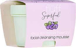 Духи, Парфюмерия, косметика Очищающий мусс для лица - Fluff Facial Cleansing Mousse Wild Blueberry