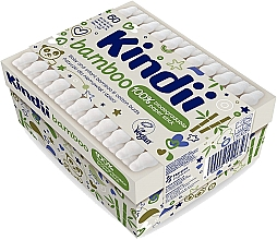 Духи, Парфюмерия, косметика Ватные палочки для младенцев и детей - Kindii Bamboo Cotton Buds