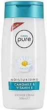 Духи, Парфюмерия, косметика Крем-гель для душа - Cussons Pure Shower Cream Moisturising Camomile & Vitamin E