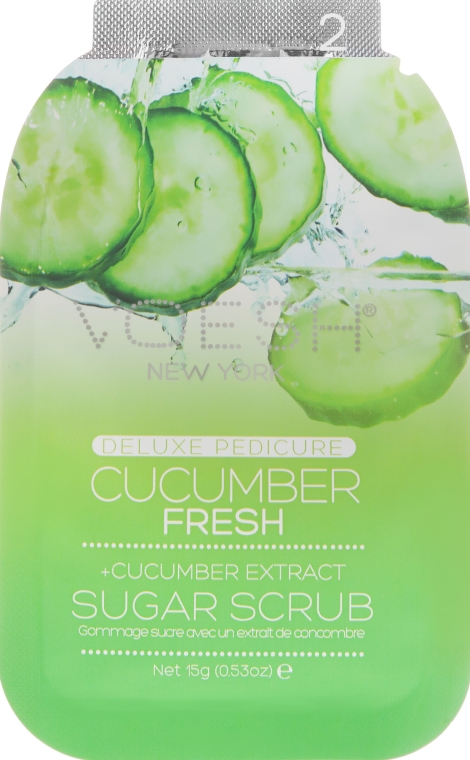"Набор для педикюра ""Огуречная свежесть"" - Voesh Pedi In A Box Deluxe Pedicure Cucumber Fresh — фото N4"