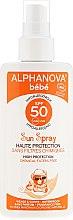 Духи, Парфюмерия, косметика Солнцезащитный спрей для детей - Alphanova Baby Sun Protection Spray SPF 50