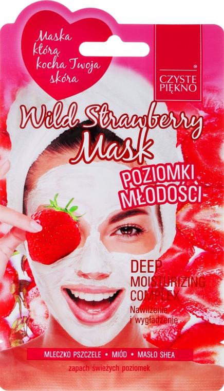 "Маска для лица ""Земляника лесная"" - Czyste Piekno Wild Strawberry Face Mask — фото N1"