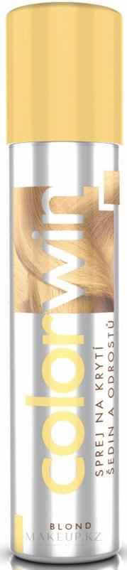 Спрей для покрытия седины и отросших корней - Colorwin — фото Blond