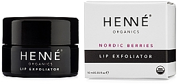 Духи, Парфюмерия, косметика Эксфолиатор для губ - Henne Organics Nordic Berries Lip Exfoliator