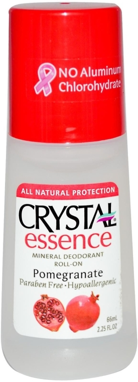Роликовый дезодорант с ароматом Граната - Crystal Essence Deodorant Roll-On Pomegranate — фото N2