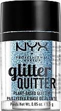 Духи, Парфюмерия, косметика Глиттер для лица и тела - NYX Professional Makeup Glitter Quitter Plant-Based Glitter