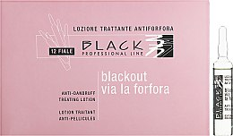 Духи, Парфюмерия, косметика Лосьон против перхоти в ампулах - Black Professional Line Anti-Dandruff Hair Lotion