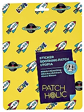 Духи, Парфюмерия, косметика Патчи для лица - Patch Holic Sticker Soothing Patch Utopia