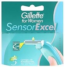 Духи, Парфюмерия, косметика Сменные кассеты для бритья - Gillette for Women Sensor Excel