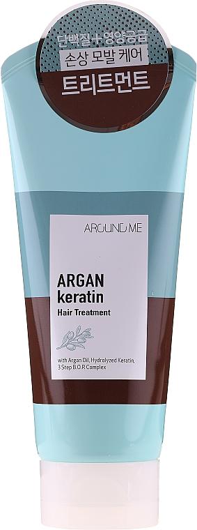 Маска для волос - Welcos Around Me Argan Keratin Hair Treatment — фото N1