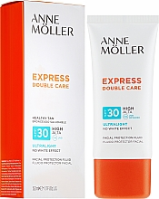 Духи, Парфюмерия, косметика Солнцезащитный флюид для лица - Anne Moller Double Care Ultralight Facial Protection Fluid SPF30
