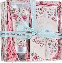 Духи, Парфюмерия, косметика Набор - Baylis & Harding Royale Garden Rose Poppy And Vanila (sh/cr/130ml + b/butter/100ml + soap/150g)