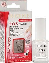 Духи, Парфюмерия, косметика Комплекс для мягких, тонких и расслаивающихся ногтей - Revuele Nail Therapy