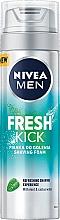 Духи, Парфюмерия, косметика Пена для бритья - Nivea For Men Fresh Kick Shaving Foam
