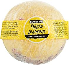 """Духи, Парфюмерия, косметика Бомбочка для ванны """"Yellow Diamond"""" - Beauty Jar With Grape Seed Oil Natural Bath Bomb"""