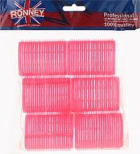 Духи, Парфюмерия, косметика Бигуди на липучке 44/63, розовые - Ronney Professional Velcro Roller