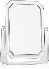 Духи, Парфюмерия, косметика Двухстороннее прямоугольное косметическое зеркало, 19.5х14.5 см - Titania